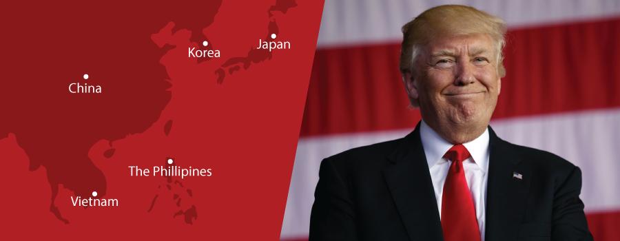 Kunjungan  Resmi Pertama Trump ke Asia, Ini Yang Menjadi Misi Utamanya