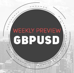 Weekly GBPUSD 09 - 13 Juli 2018