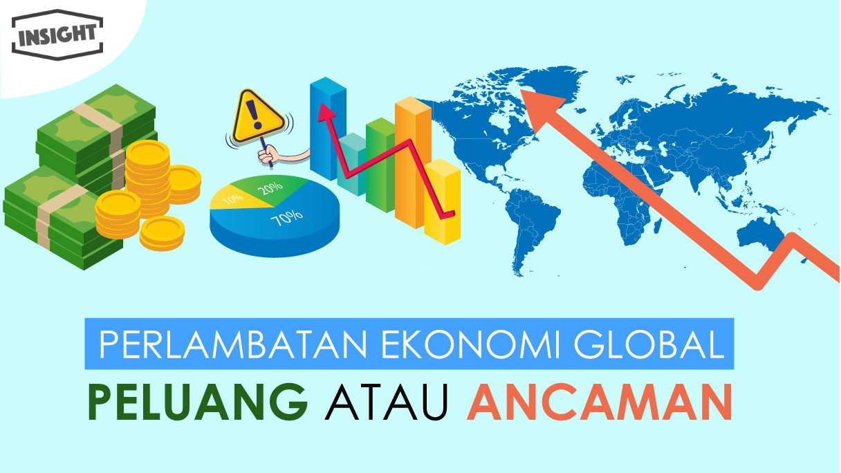 Perlambatan Ekonomi Global, Peluang Atau Ancaman?