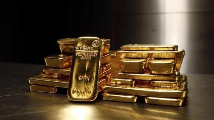 Emas Konsolidasi Karena Naiknya USD & Turunnya Saham. Level Penting Belum Berubah