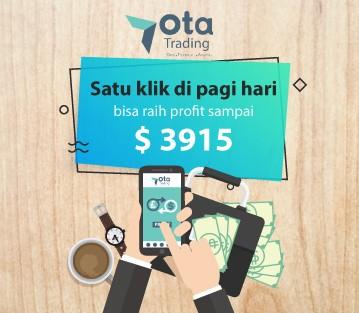 Satu klik di pagi hari bisa raih profit sampai $ 3915