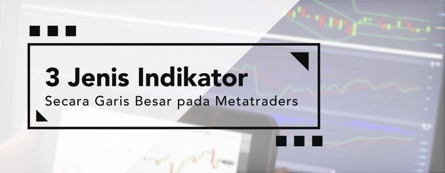 3 Jenis Indikator Secara Garis Besar pada Metatraders