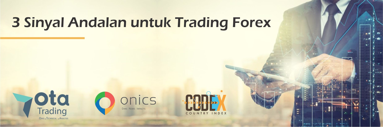 3 Sinyal Andalan untuk Trading Forex